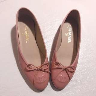 Chanel Pink Ballerina粉紅色平底鞋💖