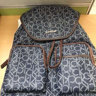 Authentic Calvin Klein Backpack