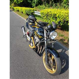 CB400 Spec3 $13100 COE till 01Sep 2027 (Black Panther)