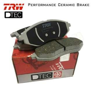 Proton Saga BLM FLX SE (Front) TRW DTEC Performance Brake Pad
