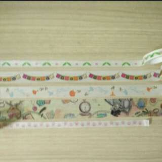 Assorted Washi tapes