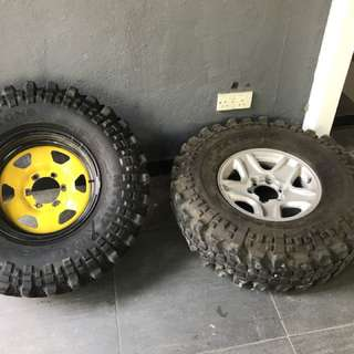 Tyre offroad 4x4 Spare