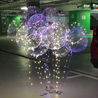 Fairy Lights Helium Balloon