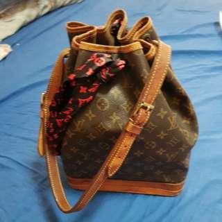 Authentic LV Monogram Noe Noe GM Shoulder Bag