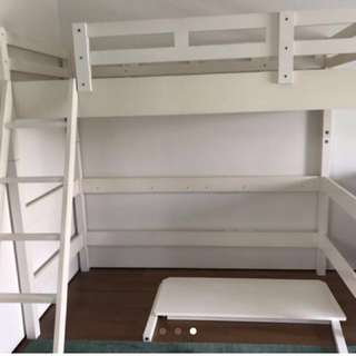 Loft bed + stairs + study table ( PENDING!! )