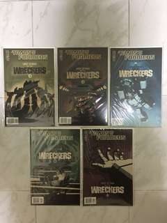 Transformers: Last Stand of the Wreckers #1-5