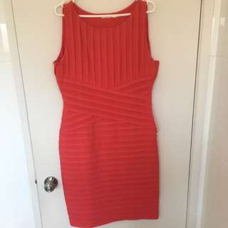 Teaberry Coral Dress Size 12