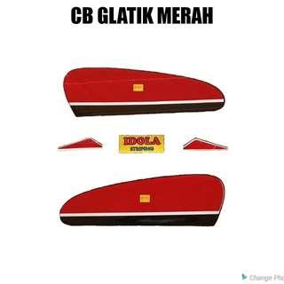 Striping CB Glatik Merah