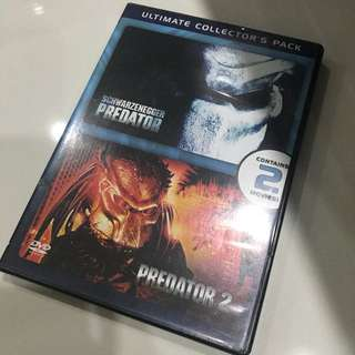 DVD Double Features - Predator 1 and Predator 2