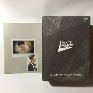 iKON MIX AND MATCH DVD 金韓彬 小卡