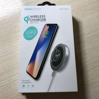 Totu Design iphone 8 8x x Wireless Charger 無線差電器