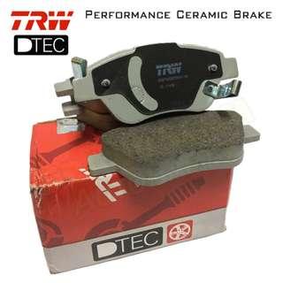 Proton Persona 2007-16 (Front) TRW DTEC Performance Brake Pad