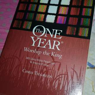 One Year Worship The King Devotional Book