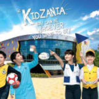 Kidzania Singapore Instant E-Ticket