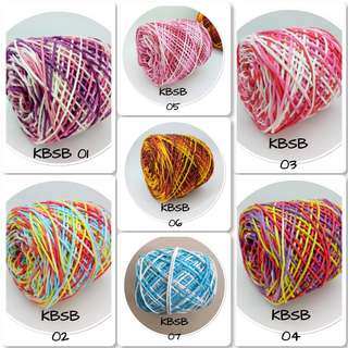Soft cotton yarn DK 4mm @100grm