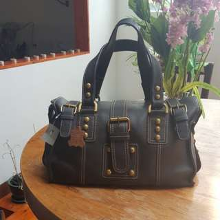 Cheap branded Bag Leather from Mango Germany