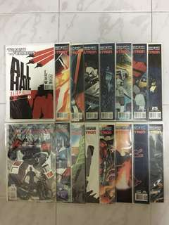 Transformers: All Hail Megatron #1-16