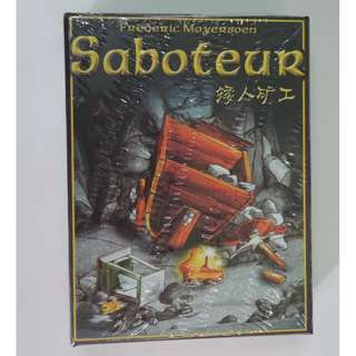 Saboteur Card Game - Path Action Gold Nugget