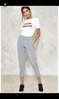NEW VERA & LUCY Checkered Trousers