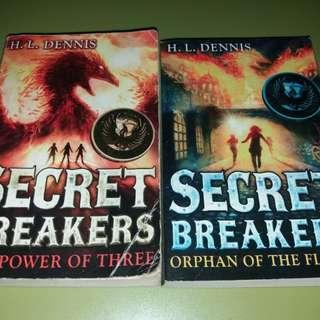 Secret Breaker book 1 and 2