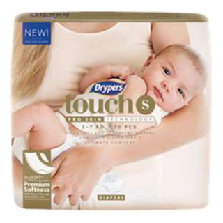 Dryper Touch Diaper S ($0.145/pcs)