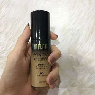 Milani conceal+perfect foundation