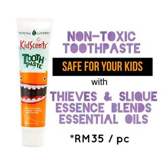 Kidscent toothpaste by young living