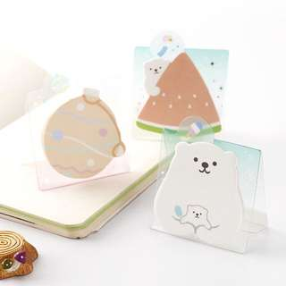 Standable Polar Bear Sticky Notes