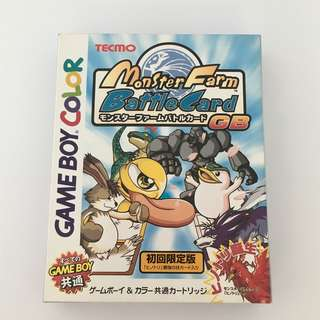 Monster Farm Battle Card GB - Game Boy Color (JAPANESE VINTAGE)