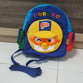 Pororo Bag for age 2 - 5 years old. Original from Korea