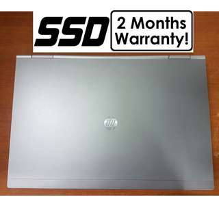 [256GB SSD Core I5 Gen2 Laptop] HP Elitebook 8460P: USB 3.0