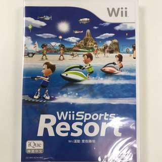 Wii Sports Resort Game 遊戲 全新 中文版 Nintendo