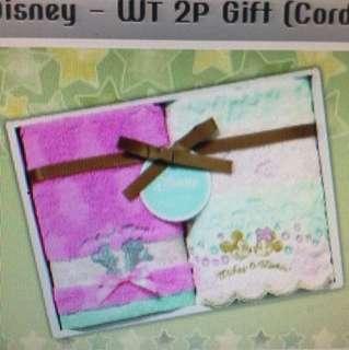 日本Disney 米奇米妮毛巾套裝