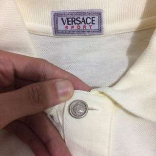 Versace Longsleeve Polo Made In Italy