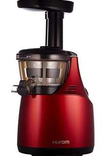 Hurom HE slow juicer (Red)