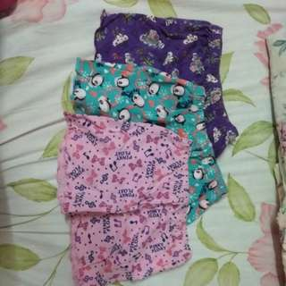 3 Girls' Shorts for RM10