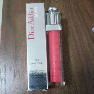 BN. Dior Addict Lip Gloss. UP $44 sell $30. Full size