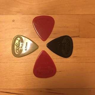New Nylon 0.71 mm Guitar Picks