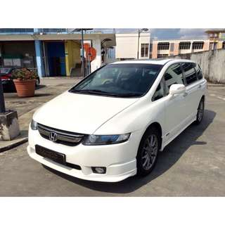 For Rent! 7 Seaters! Uber/Grab/Own Use! Honda Odyssey!