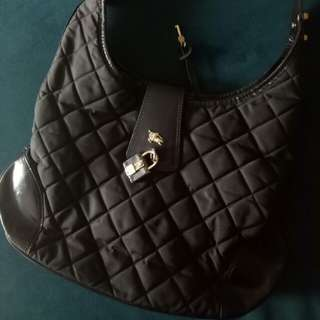 Burberry leather hobo Handbag
