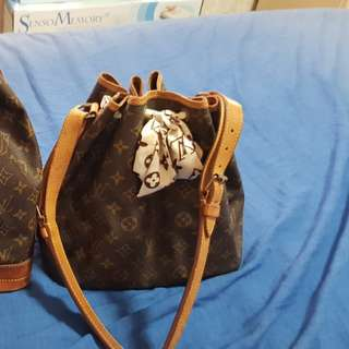 Authentic LV Monogram Noe Noe MM shoulder bag