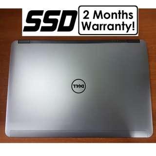 [256GB SSD Core I5 Gen4 Laptop] Dell Latitude E6440: 8GB RAM!