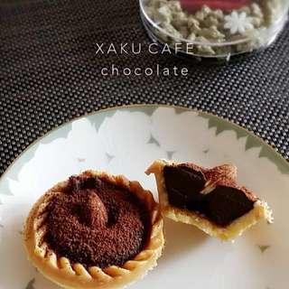 頂級巧克力塔 生巧克力 巧克力派 XAKU 優派禮盒