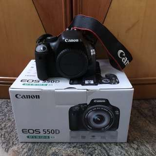 Canon 550D body like new with free gift