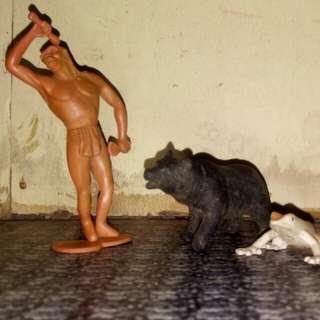Prehistoric Man w/ Animals
