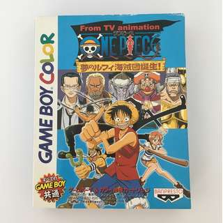 One Piece: Yume no Rufy Kaizokudan Tanjou - Game Boy Color (JAPANESE VINTAGE)