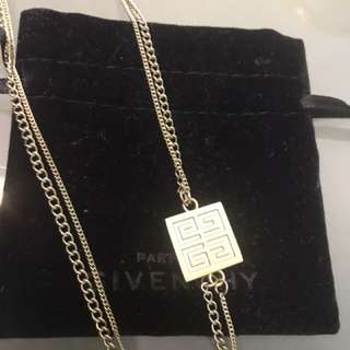 Givenchy long necklace