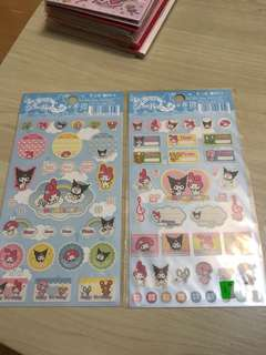 My Melody Stickers (Made in Japan in 2005)日本限定 ($80 for 2不設散賣)
