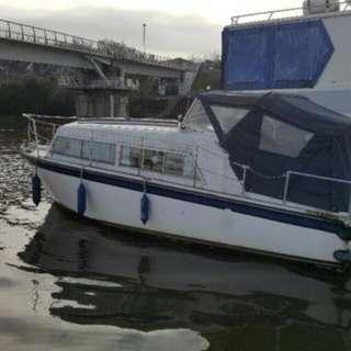 23' cruiser boat