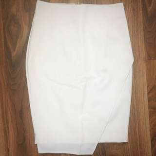 Nora wrap front skirt